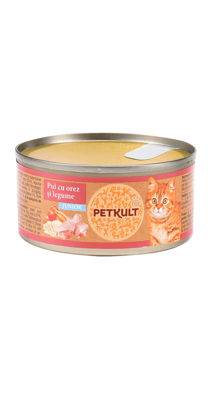 PETKULT cat konz. KITTEN 80g