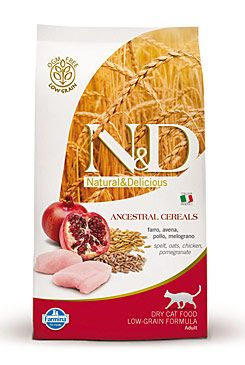 N&D LG CAT Adult Chicken & Pomegranate 1,5kg