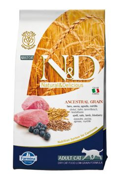 N&D LG CAT Adult Lamb & Blueberry 5kg