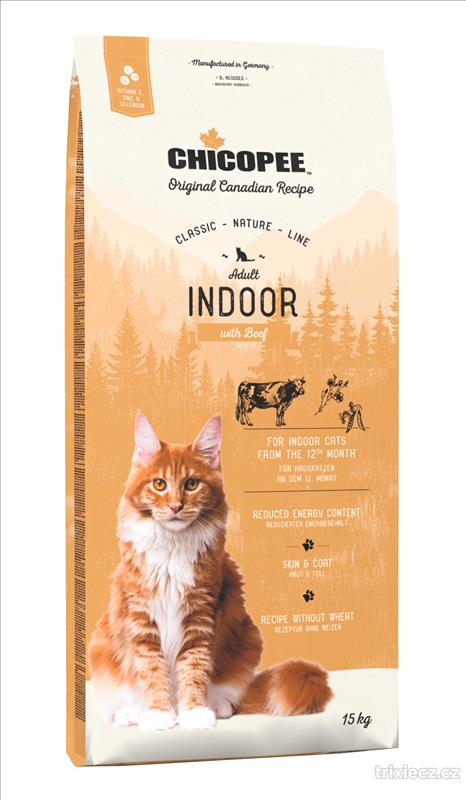 CHICOPEE CNL CAT Adult Indoor Beef 15kg