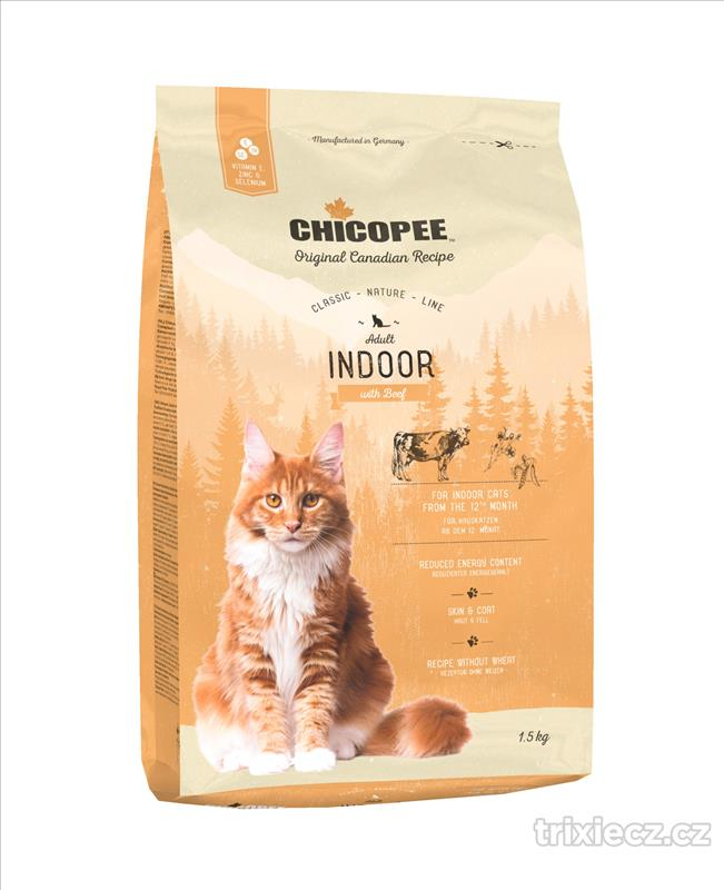 CHICOPEE CNL CAT Adult Indoor Beef 1,5 kg