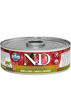 N&D CAT QUINOA Adult Duck & Coconut 80g