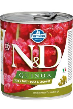 N&D DOG QUINOA Adult Duck & Coconut 285g