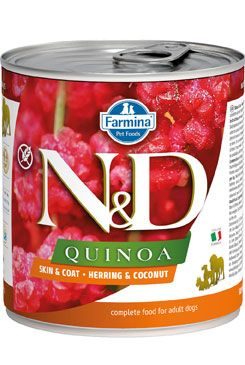 N&D DOG QUINOA Adult Herring & Coconut 285g
