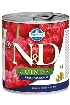 N&D DOG QUINOA Adult Venison & Coconut 285g