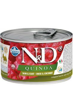 N&D DOG QUINOA Adult Duck & Coconut Mini 140g