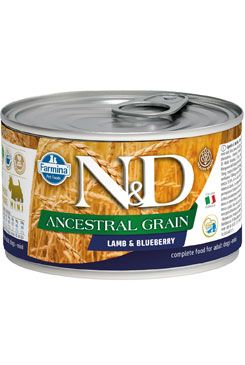 N&D DOG LOW GRAIN Adult Chicken & Pomegranate Mini 140g