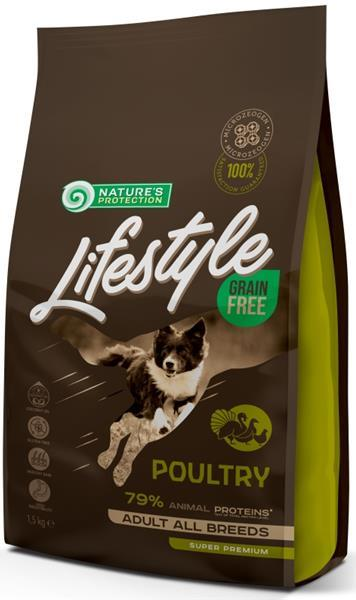Nature's Protection Dog Dry LifeStyle GF 1,5 kg
