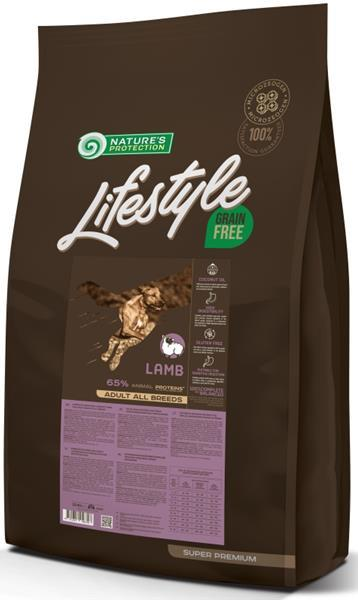 Nature's Protection Dog Dry LifeStyle GF Lamb 10 kg