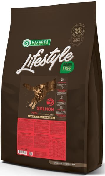 Nature's Protection Dog Dry LifeStyle GF Salmon 10 kg