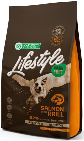 Nature's Protection Dog Dry LifeStyle GF Junior 1.5 kg
