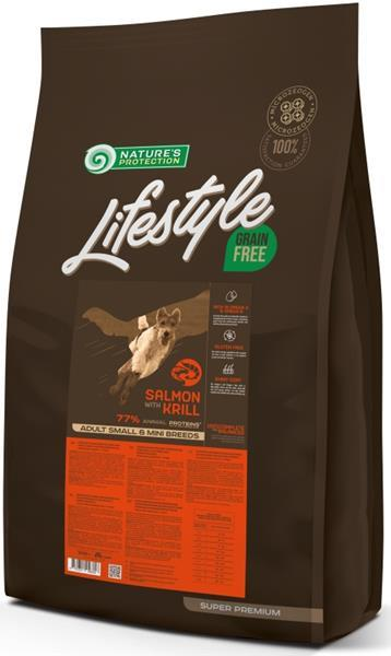 Nature's Protection Dog Dry LifeStyle GF Salmon SB 10 kg