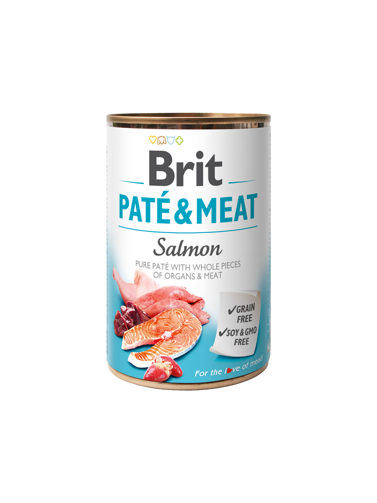 BRIT PATÉ & MEAT - SALMON 400g