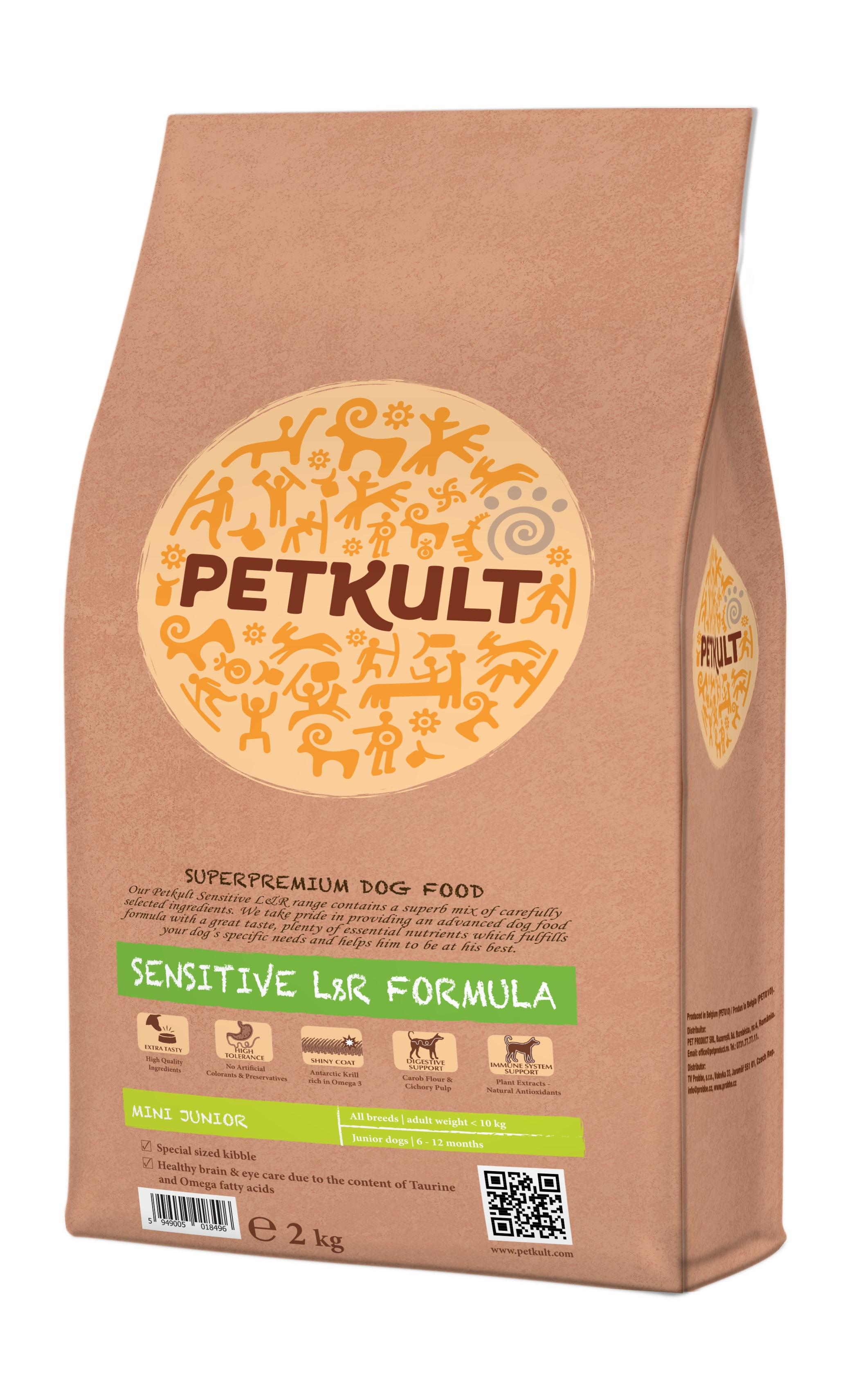 PETKULT dog MINI JUNIOR lamb/rice 2 kg
