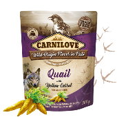 Carnilove Dog Pouch Paté Quail & Yellow Carrot 300g