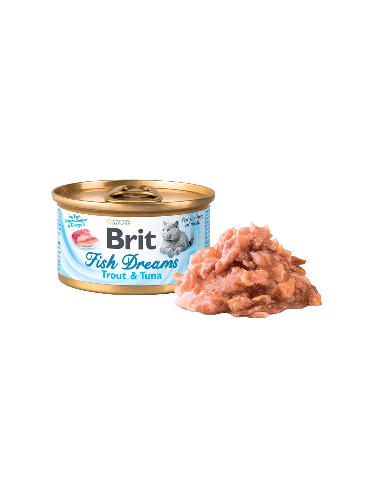 Brit Fish Dreams Trout & Tuna 80g